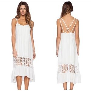 6 Shore Road by Pooja White Dress Coverup